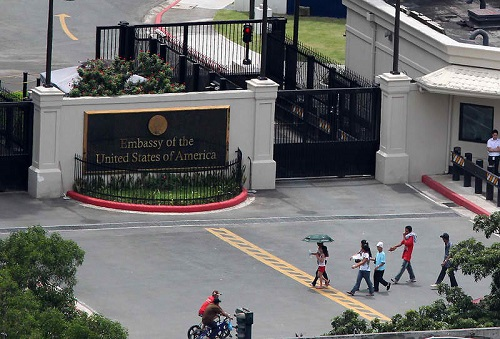 Racial Discrimination by the U S  Embassy in Manila   The