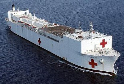 Hospital Ship USNS Mercy USA T-AH19