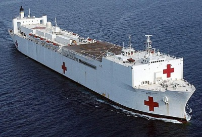 Hospital Ship USNS Mercy USA T-AH19