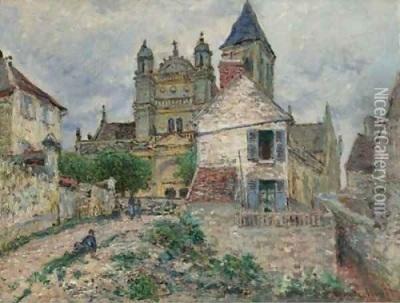 L'Eglise et la Seine a Vertheuil