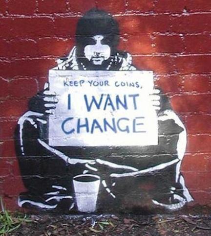 Mural by American street artist Meek.
