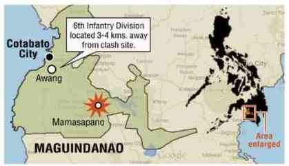 mamasapano-map inquirer
