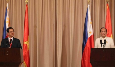 Aquino Prime-Minister-Dung-of-Viet-Nam