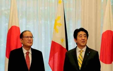 noynoy-aquino-shinzo-abe philstar