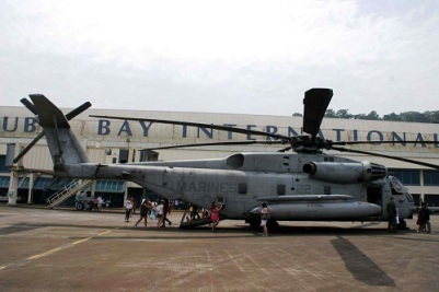 guests tour US military craft at Subic - mysubicbaydotcom