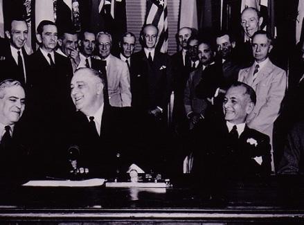 Roosevelt - Quezon US archives