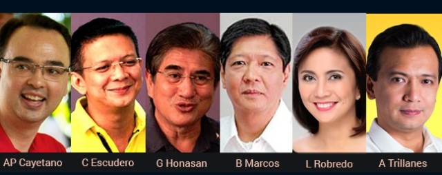 Philippine-Election-2016-candidates-for-vice-president