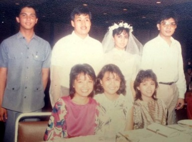 Wedding Photo Jesse and Leni Robredo