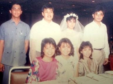 Wedding Photo Jesse and Leni Robredo