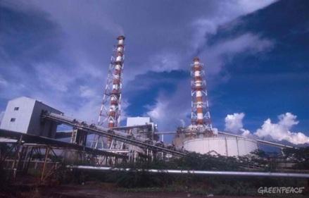 coal-fired-thermal-power-plant in Calaca Batangas Greenpeace John Novis