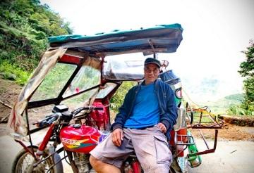 Alfredo-and-his-Tricycle-in-Banuaer Greg Goodman adventuresofagoodman