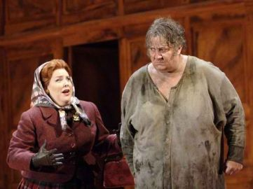 Sir Falstaff and Mistress Quickly